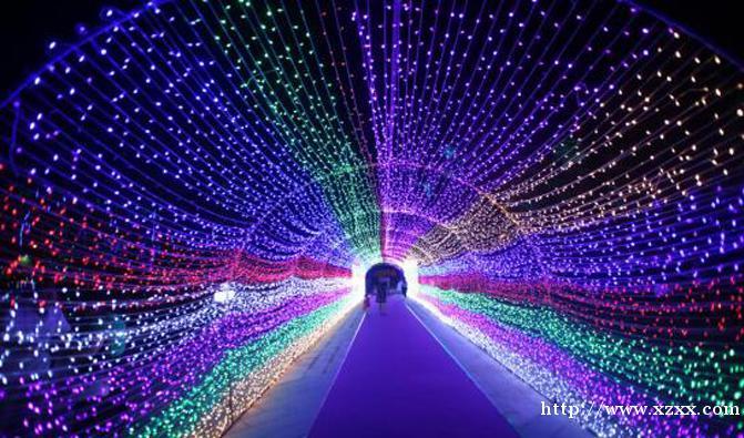 灯光节设计安装灯光节造型制作出售灯光展方案等